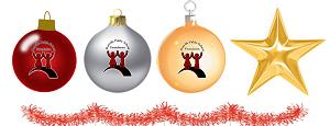 christmas ornament group 300